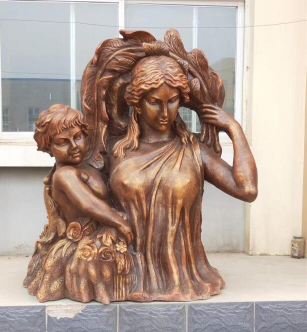 承德仿銅雕塑